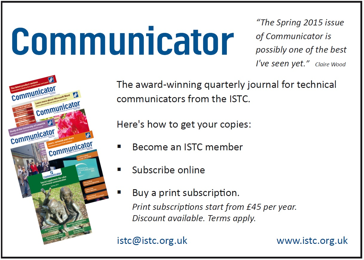 Subscribe to Communicator advert